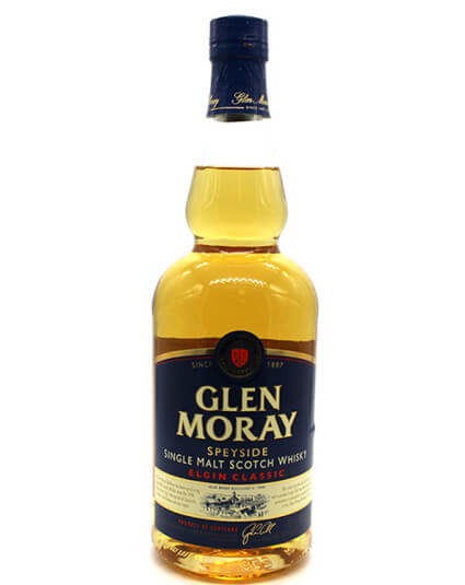 Glen Moray classic scotch whisky