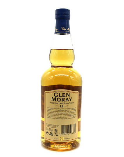 Glen moray 12 ans scotch whisky verso