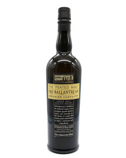 Old Ballantruan the Peated Malt scotch whisky