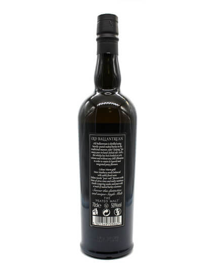 Old Ballantruan the Peated Malt scotch whisky verso