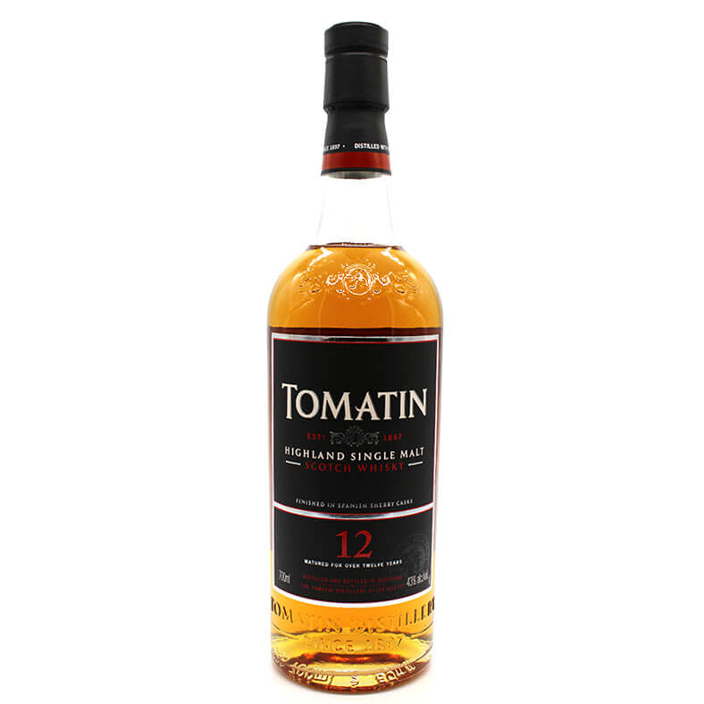 Tomatin 12 ans scotch whisky