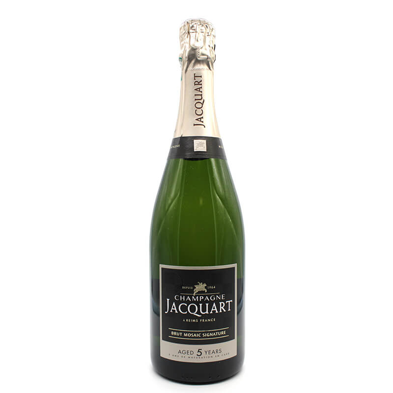 Champagne Jacquart aged 5 years