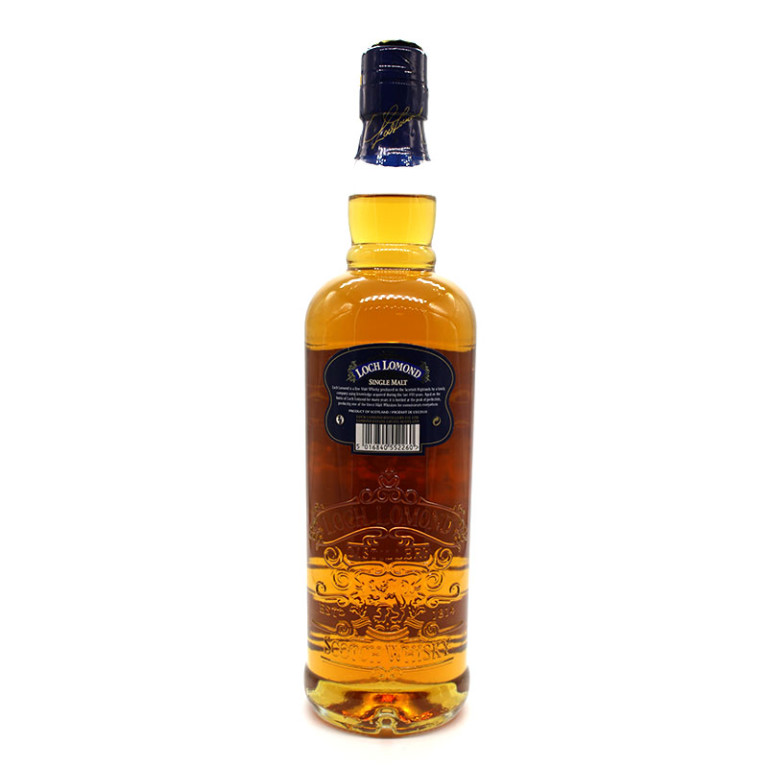 Loch Lomond scoth whisky verso