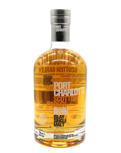 Port Charlotte scottish barley scotch whisky