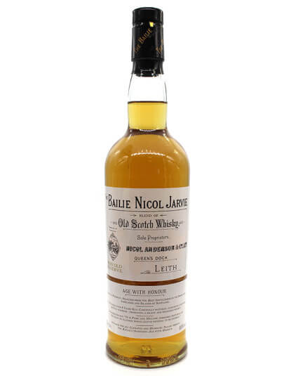 The Bailie Nicol Jarvie Scotch whisky recto