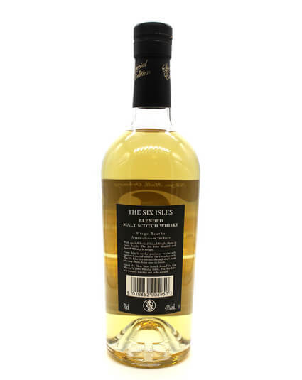 The six isles scotch whisky verso