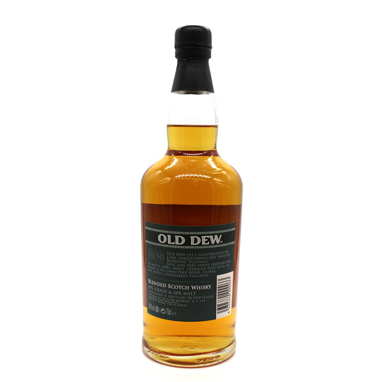 old dew scotch whisky verso