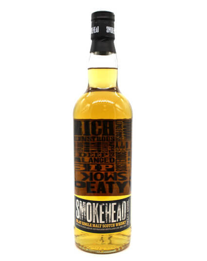 smokehead scotch whisky recto