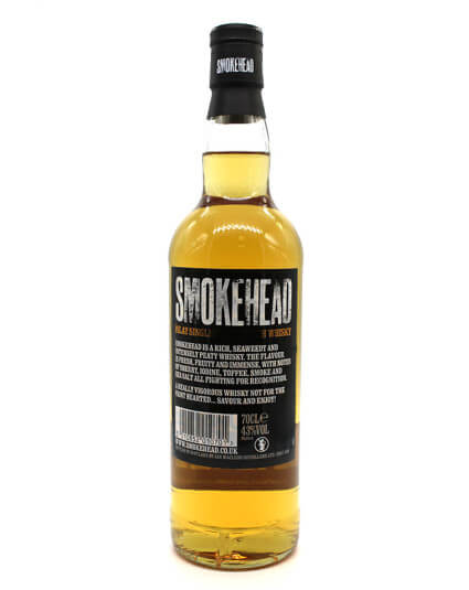 smokehead scotch whisky verso