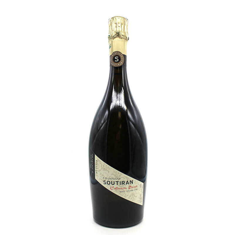 Champagne soutiran collection privée 2011 brut grand cru